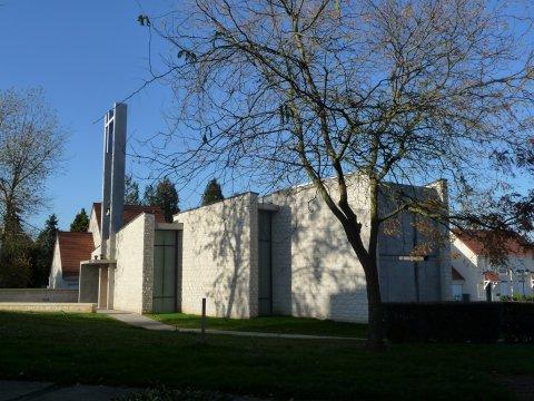 ARVAL architecture - Chapelle Mère Térésa – Crépy-en-Valois - 9 Arval Chapelle Mère Térésa