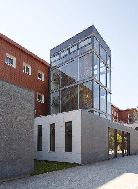 ARVAL architecture - Cité scolaire-Réhabilitation – Amiens - 11 Arval Cité scolaire Réhabilitation 13