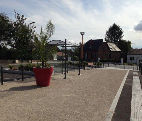 ARVAL architecture - Place du Thiolet – Itancourt - 7 ARVAL place Itancourt