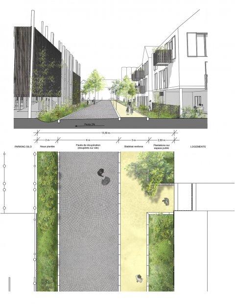 ARVAL architecture - ECOQUARTIER – SENLIS - 8 Arval ecoquartier Senlis