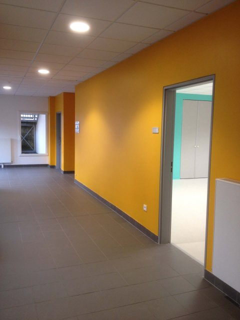ARVAL architecture - Institution Notre Dame – Noyon - 9 ARVAL Ecole Notre Dame Noyon vue intérieure 4