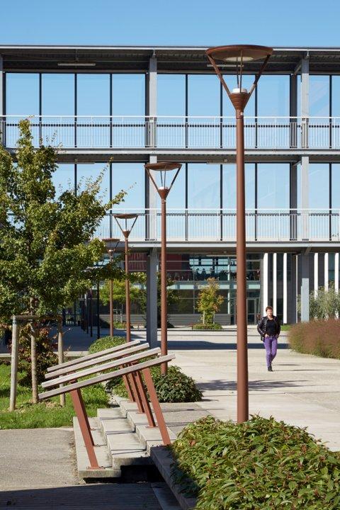 ARVAL architecture - Cité scolaire-Espaces extérieurs – Amiens - 7 arval cité scolaire amiens