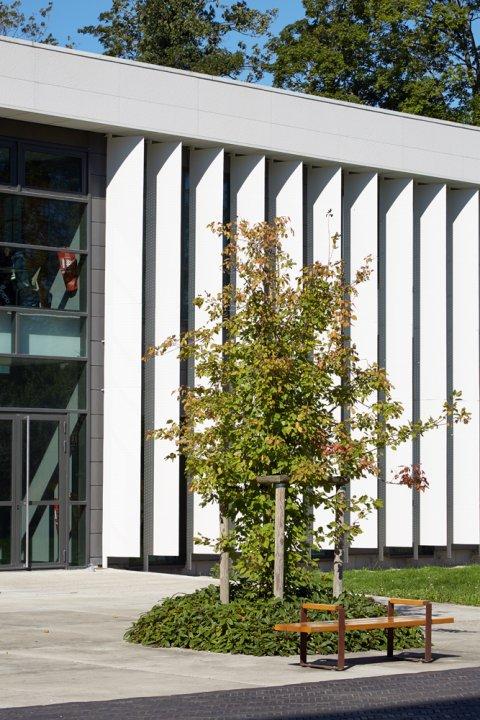ARVAL architecture - Cité scolaire-Espaces extérieurs – Amiens - 8 arval cité scolaire amiens