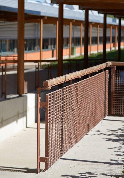 ARVAL architecture - Cité scolaire-Espaces extérieurs – Amiens - 9 arval cité scolaire amiens