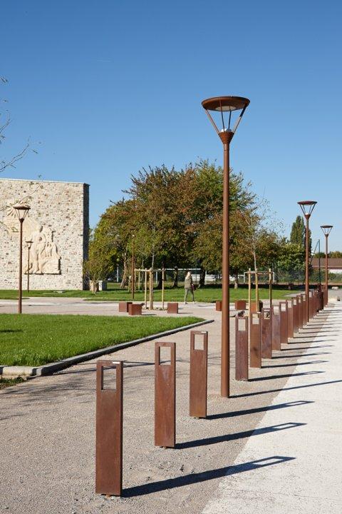 ARVAL architecture - Cité scolaire-Espaces extérieurs – Amiens - 13 arval cité scolaire amiens