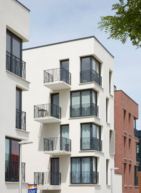 ARVAL architecture - ZAC des 2 Rives-Ilôt C – Compiègne - 5 ZAC des 2 Rives - Ilot C