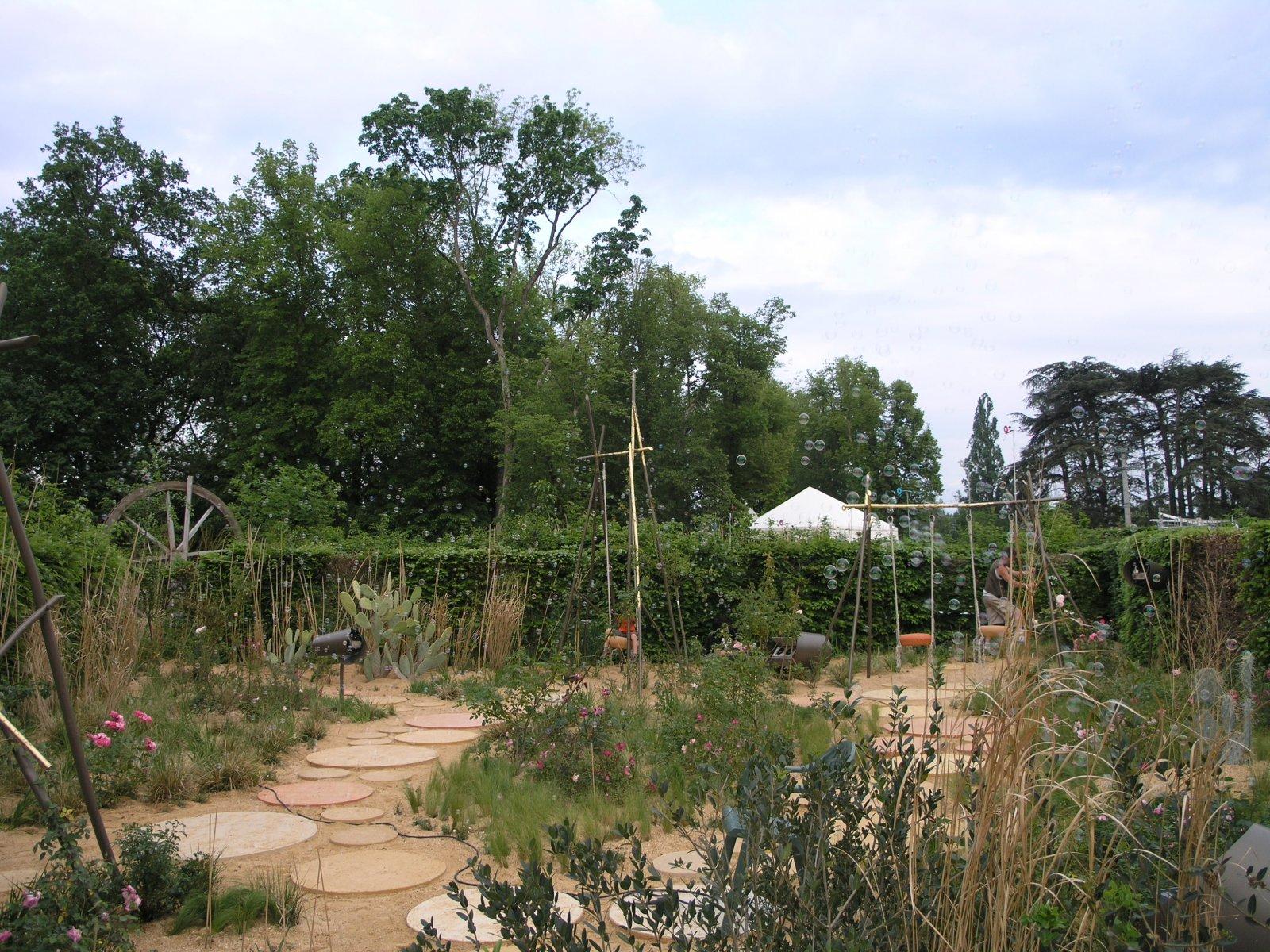 Jardins mobiles chaumont sur loire arval architecture for Jardin lamartine