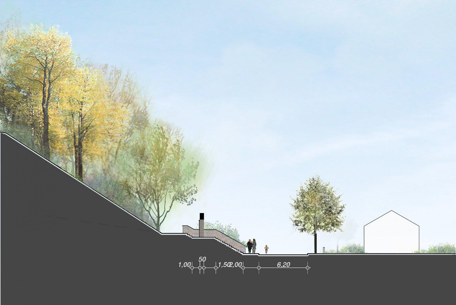 Am nagement du bois communal verneuil arval architecture - Architecture du bois ...