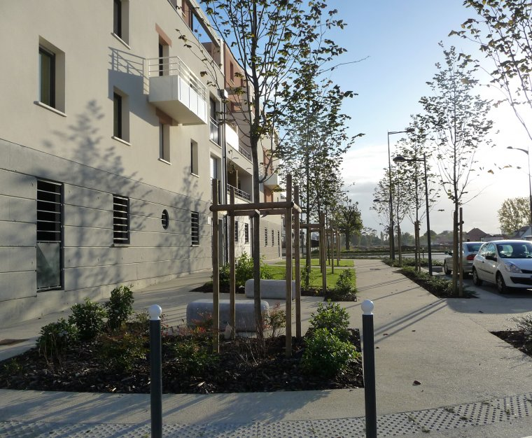 ARVAL architecture - ZAC de Royallieu – Compiègne - 7 Arval ZAC de Royallieu