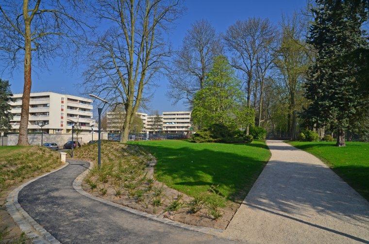 ARVAL architecture - Parc du château – ZAC de Louvres - 7  Arval ZAC de Louvres