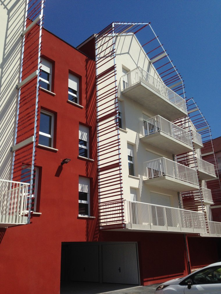 ARVAL architecture - Résidence le Fleura – Creil - 2 arval le fleura 13