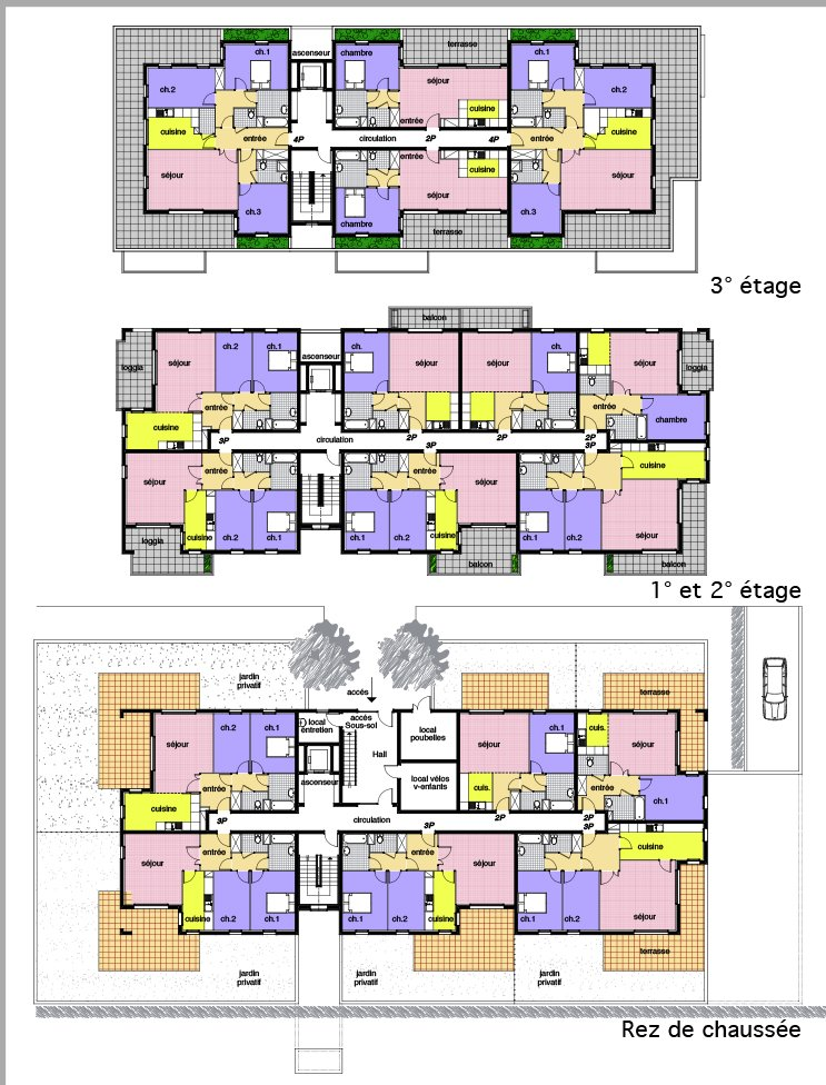 ARVAL architecture - Les Vergers Paul Claudel tranche 2 – Amiens - 5 Arval Paul Claudel Amiens