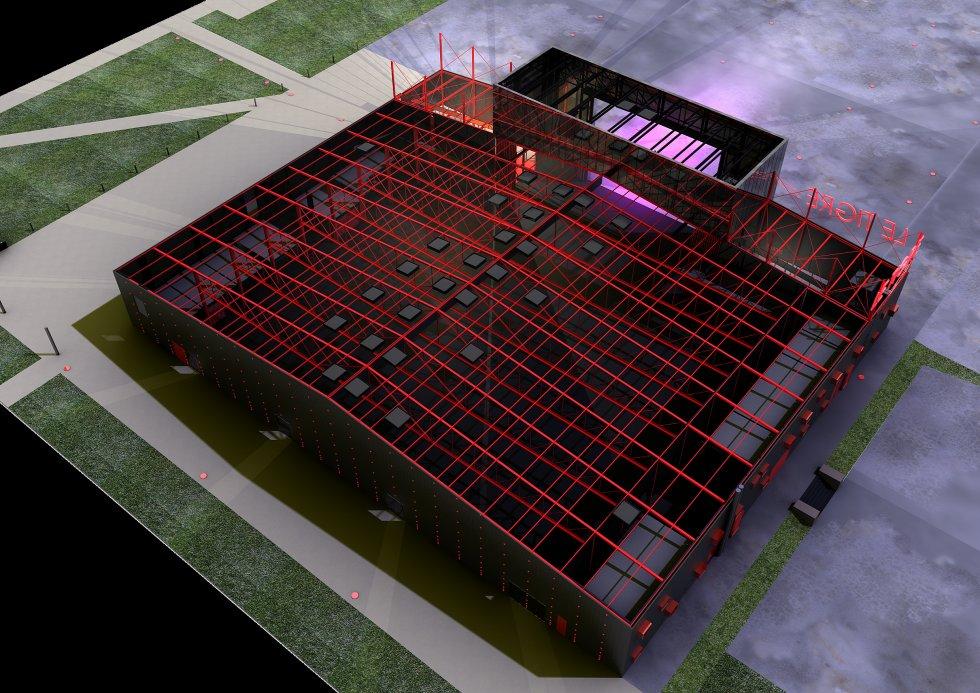 ARVAL architecture - Pôle évènementiel – Compiègne - 6 Arval pôle évènementiel le Tigre Compiègne