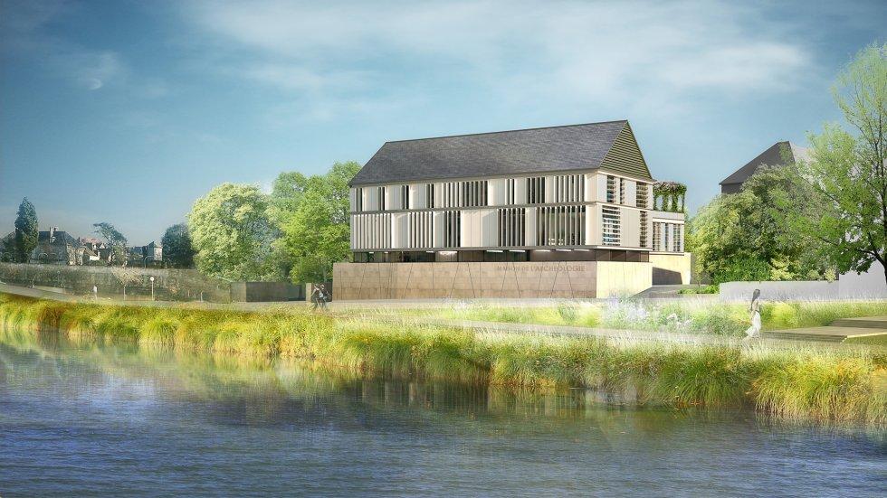 ARVAL architecture - Maison de l'archéologie – Compiègne - 1 arval maison de l'archeologie compiegne 1