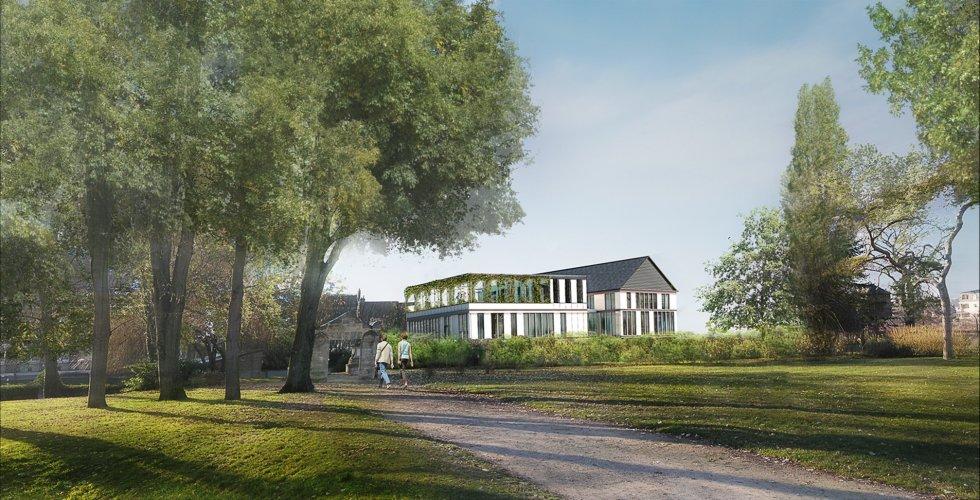 ARVAL architecture - Maison de l'archéologie – Compiègne - 2 arval maison de l'archeologie compiegne 2