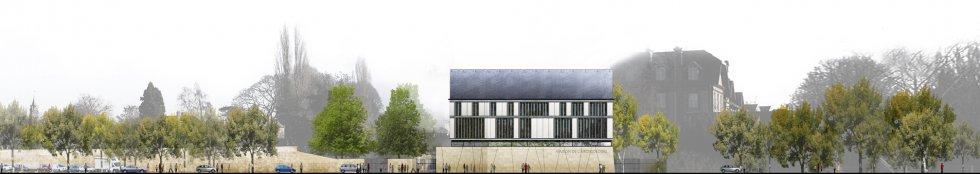 ARVAL architecture - Maison de l'archéologie – Compiègne - 3 arval maison de l'archéologie compiegne 3