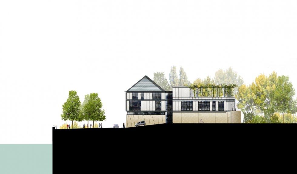 ARVAL architecture - Maison de l'archéologie – Compiègne - 5 arval maison de l'archeologie compiegne 5