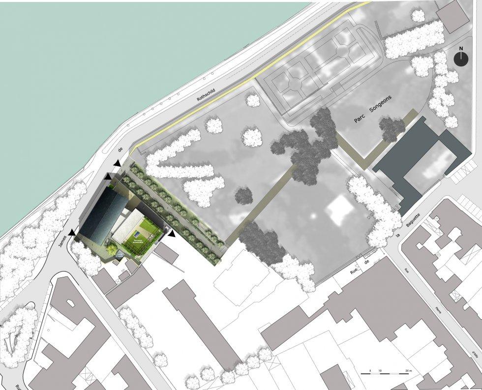 ARVAL architecture - Maison de l'archéologie – Compiègne - 6 arval maison de l'archeologie compiegne 6