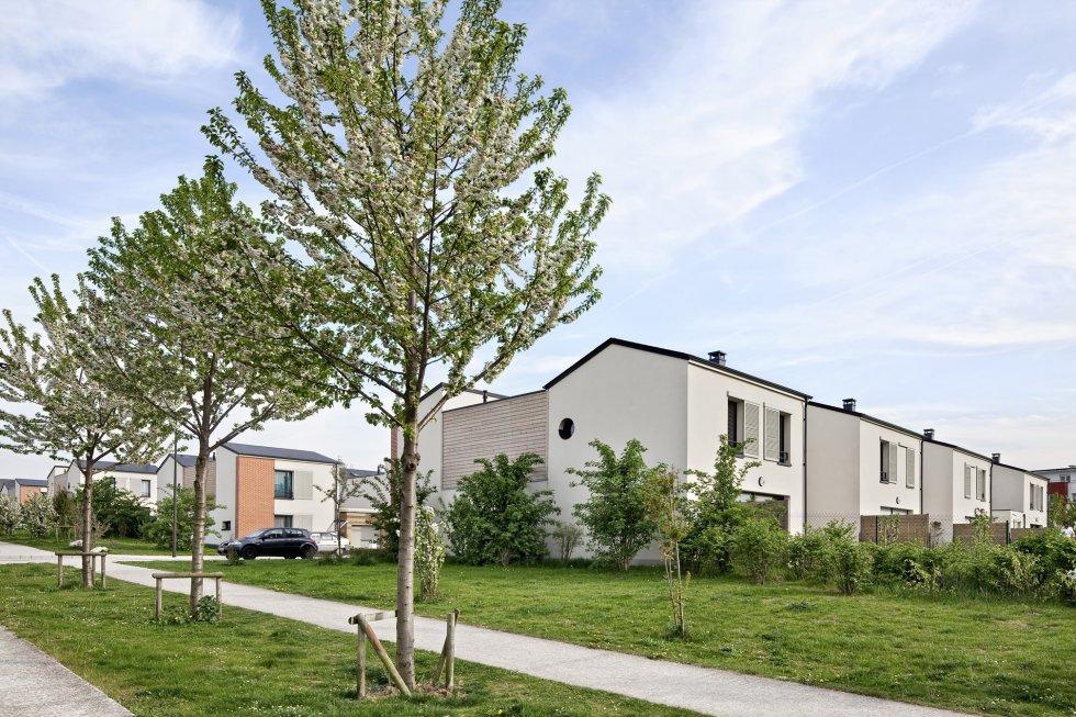 ARVAL architecture - Les villas de Flore – Amiens - 2