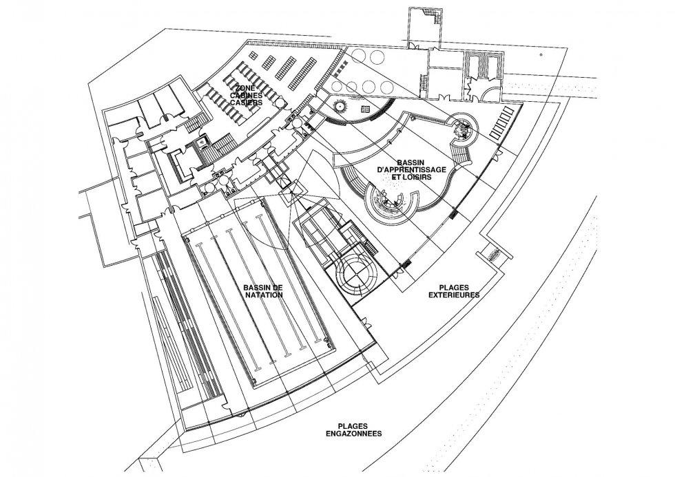 ARVAL architecture - Centre nautique intercommunal – Trie Château - 2