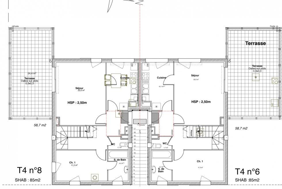 ARVAL architecture - ZAC du Clos Féron – Le Meux - 6 Arval le meux 6