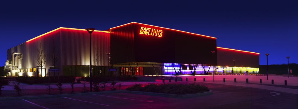 ARVAL architecture - Karting bowling – Jaux - 1 Arval Karting bowling Jaux 1