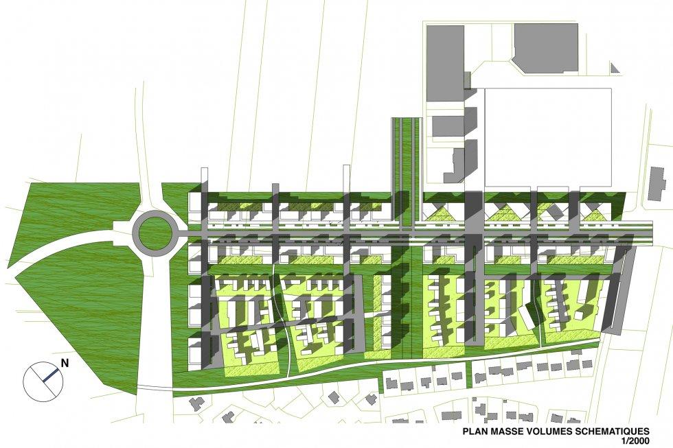 ARVAL architecture - Ecoquartier – Jaux - 4 arval ecoquartier jaux 1
