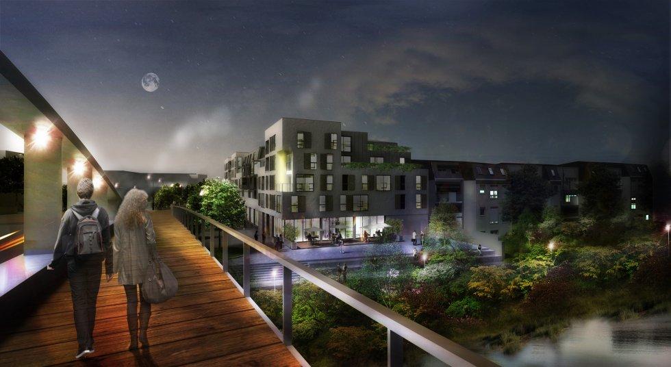 ARVAL architecture - ZAC des 2 Rives-Ilot D – Margny-les-Compiègne - 1 arval zac des 2 rives ilot D 1