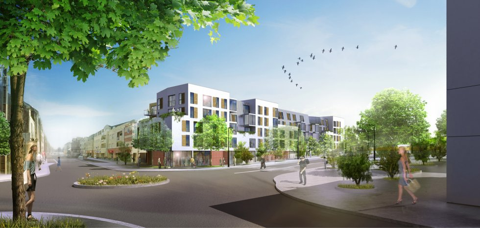 ARVAL architecture - ZAC des 2 Rives-Ilot D – Margny-les-Compiègne - 2 arval zac des 2 rives ilot D 2
