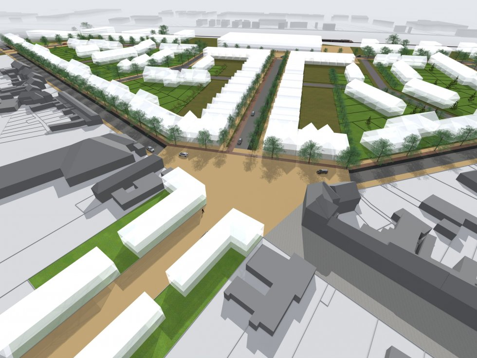 ARVAL architecture - Aménagement quartier de la gare – Chauny - 3 arval quartier gare chauny 3