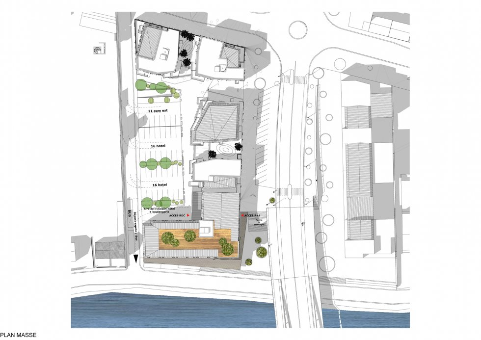 ARVAL architecture - Hôtel ZAC des deux Rives – Margny les Compiègne - 2 arval hotel margny les compiegne 2