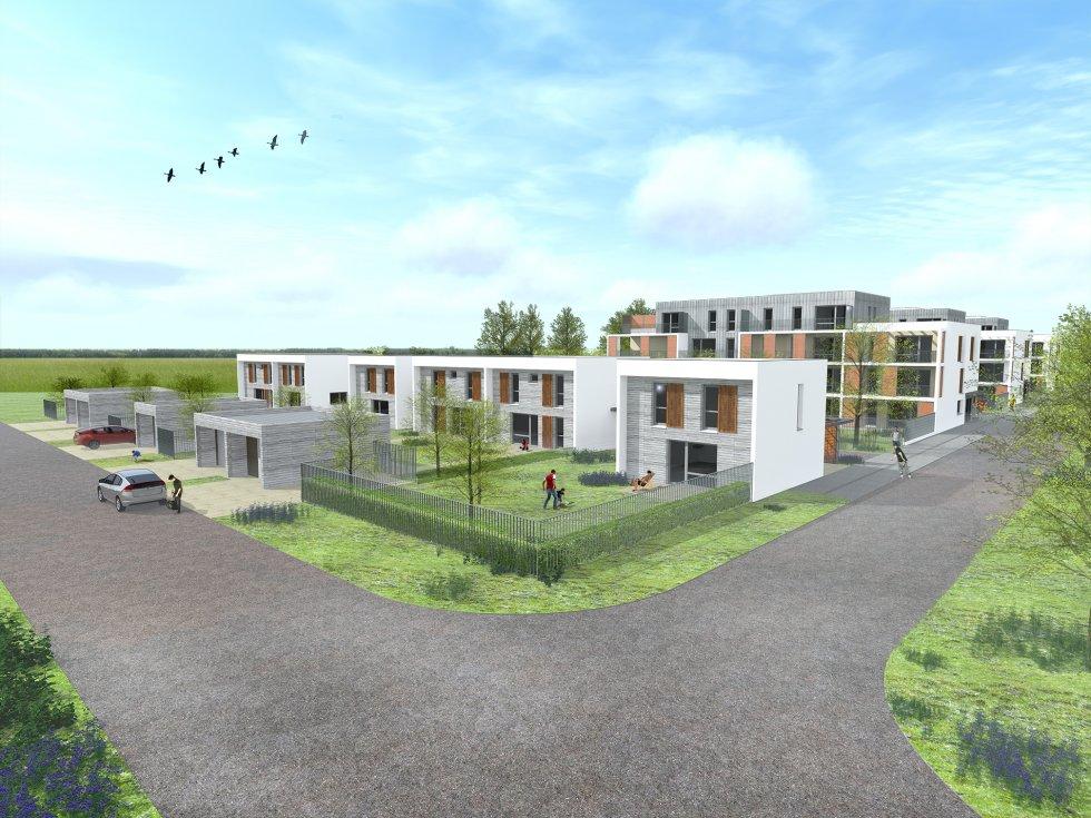 ARVAL architecture - 63 logements «25 RGA» – Compiègne - 2 arval 63 logements 25 RGA 4