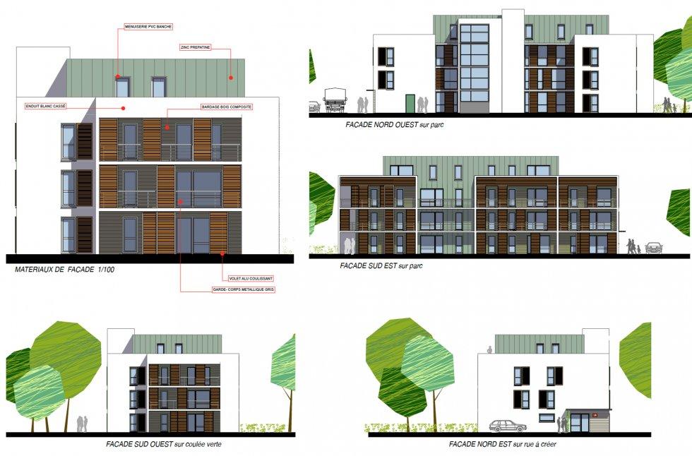 ARVAL architecture - 63 logements «25 RGA» – Compiègne - 6 arval 63 logements 25 RGA 5
