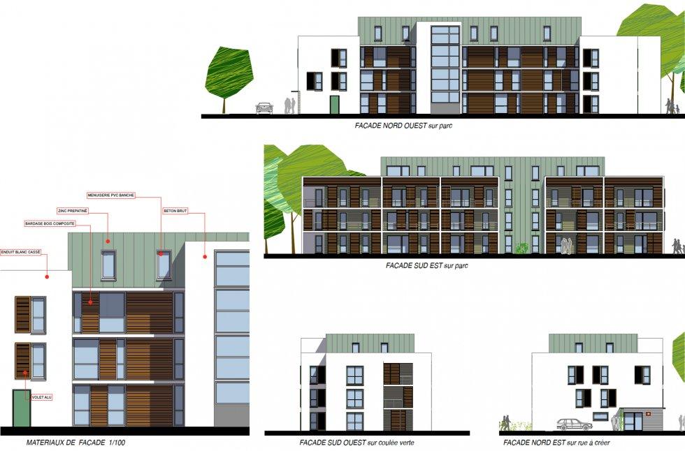 ARVAL architecture - 63 logements «25 RGA» – Compiègne - 7 arval 63 logements 25 RGA 6