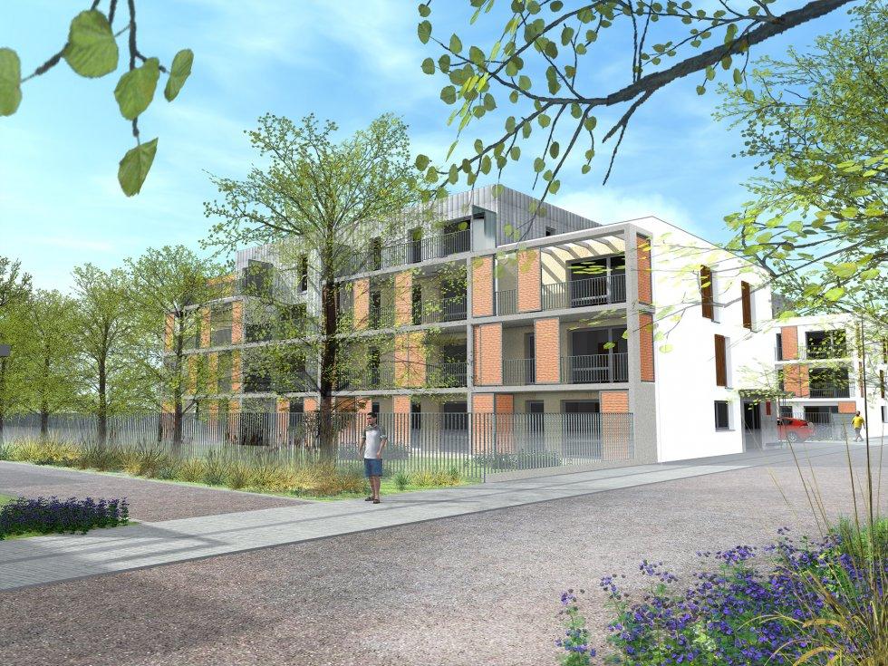 ARVAL architecture - 63 logements «25 RGA» – Compiègne - 3 arval 63 logements 25 RGA 2