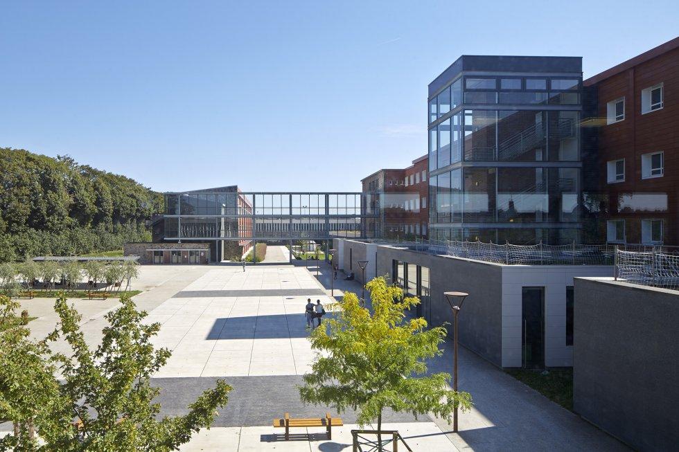 ARVAL architecture - Cité scolaire-Réhabilitation – Amiens - 4 Arval Cité scolaire Réhabilitation 5