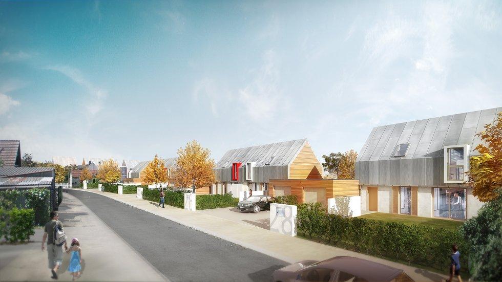 ARVAL architecture - ZAC des Jardins – La Croix Saint Ouen - 4 Arval zac des Jardins la Croix Saint Ouen 4