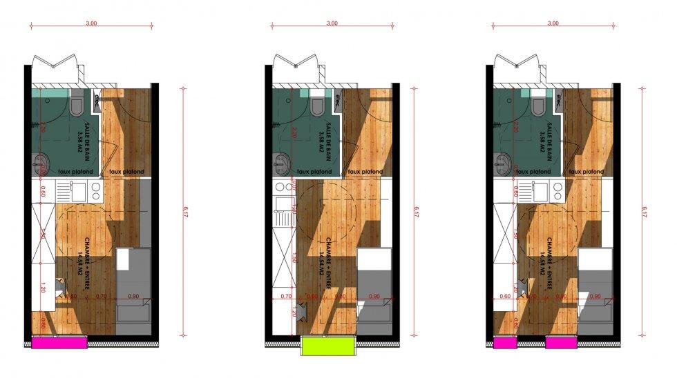 ARVAL architecture - Résidence étudiants Lassalle – Beauvais - 7 Arval Résidence étudiante Lassalle7