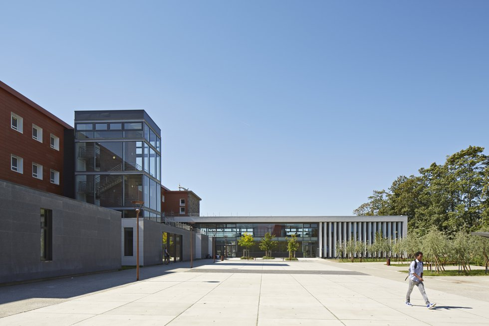 ARVAL architecture - Cité scolaire-Réhabilitation – Amiens - 3 Arval Cité scolaire Réhabilitation 4