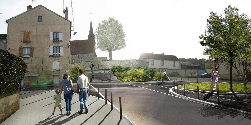 ARVAL architecture - Rue Pierre Sémard – Etampes sur Marne - 1 Arval rue pierre sémard étampe 12