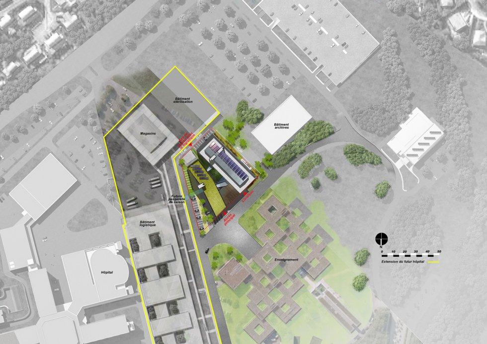ARVAL architecture - Laboratoires, Université de Picardie – Amiens - 1 Arval Labo Jules Vernes Amiens 2