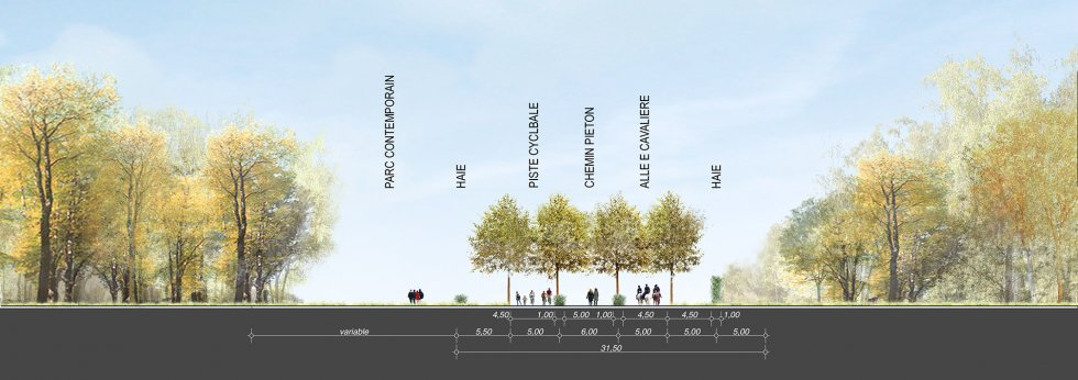 ARVAL architecture - Aménagement du bois communal – Verneuil - 6 arval bois de Verneuil
