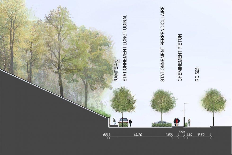ARVAL architecture - Aménagement du bois communal – Verneuil - 8 arval bois de Verneuil
