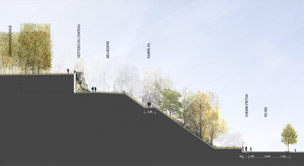ARVAL architecture - Aménagement du bois communal – Verneuil - 9 arval bois de Verneuil