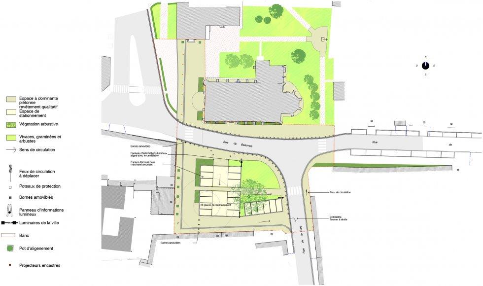 ARVAL architecture - Aménagement de la place Saint Georges – Chevrière - 6 arval place chevrière
