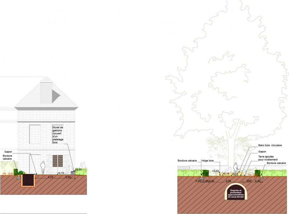 ARVAL architecture - Théatre de verdure – Saint-Pierre-en-Chastres - 4 arval saint pierre en chastres