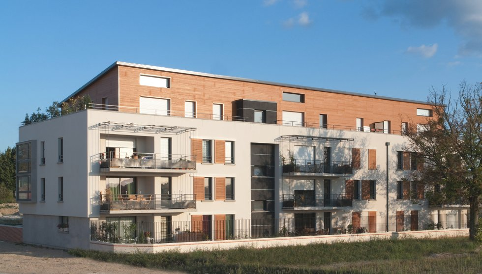 ARVAL architecture - Résidence Mozart – Compiègne - 3 arval résidence Mozart Compiègne