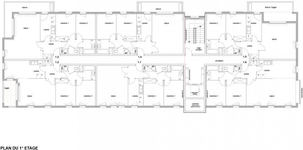 ARVAL architecture - Résidence Mozart – Compiègne - 5 arval résidence Mozart Compiègne