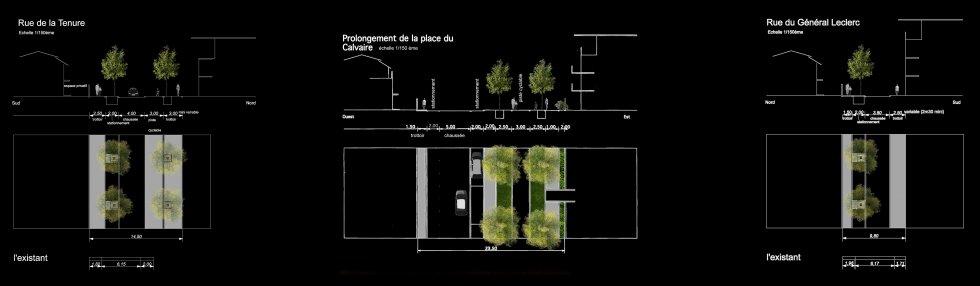 ARVAL architecture - Restructuration du centre-ville – Lamorlaye - 3 arval lamorlaye
