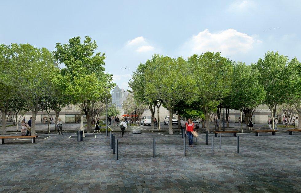 ARVAL architecture - Requalification du centre-ville – Gouvieux - 1 arval centre ville gouvieux